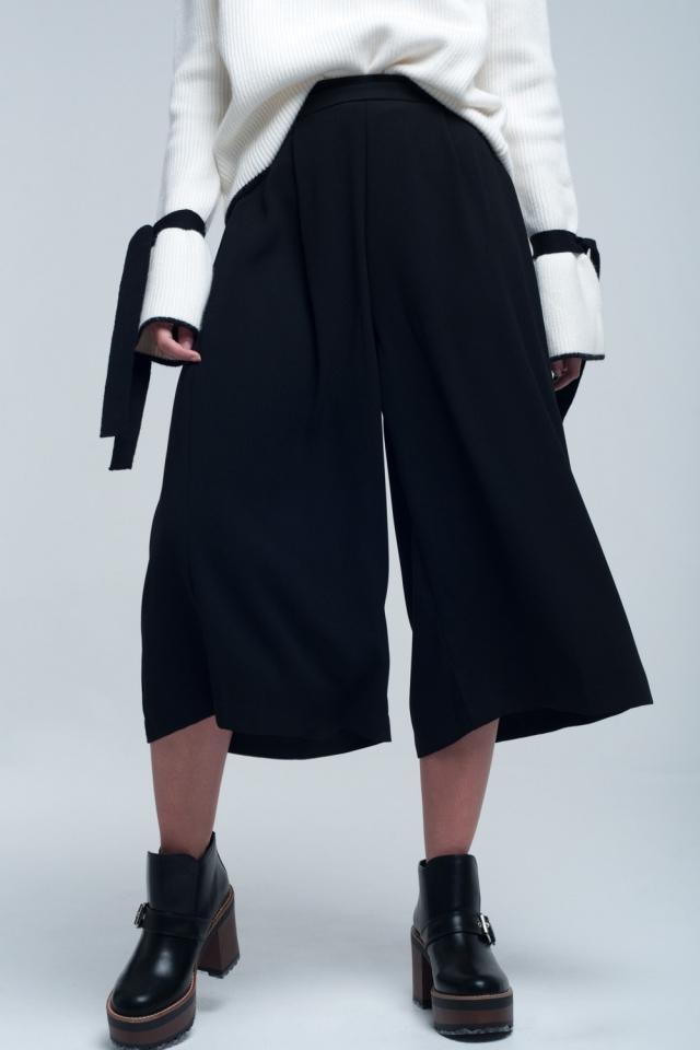 Culotte in black