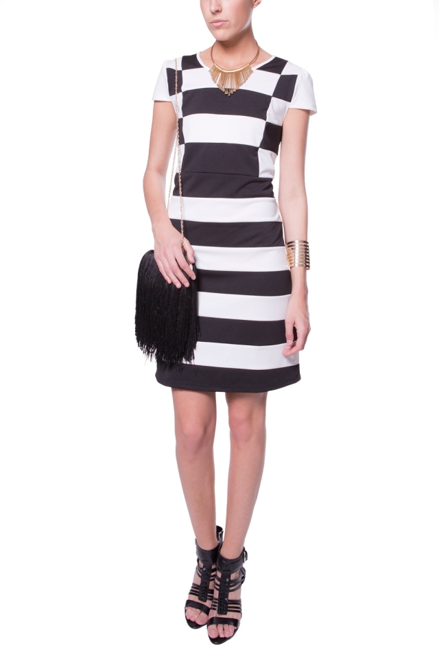 Big stripes dress