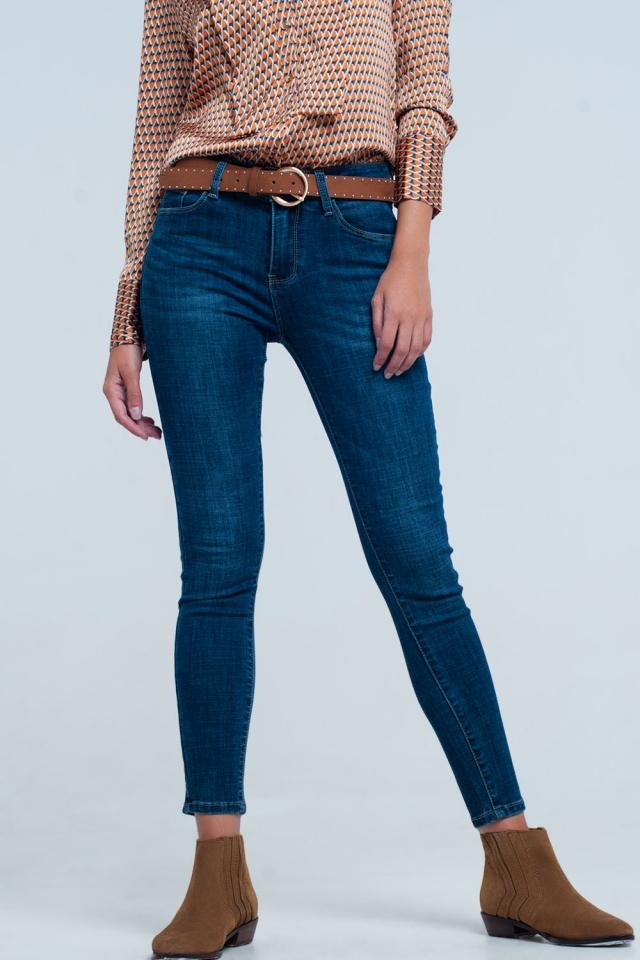 Blue Jeans Push-Up-Effekt