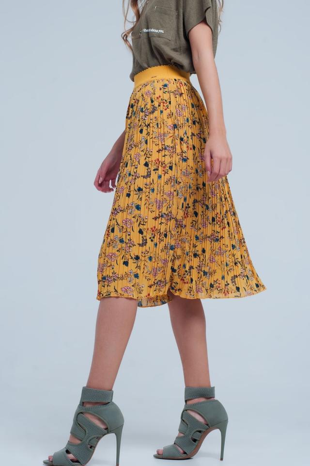 Mostaza coloured skirt