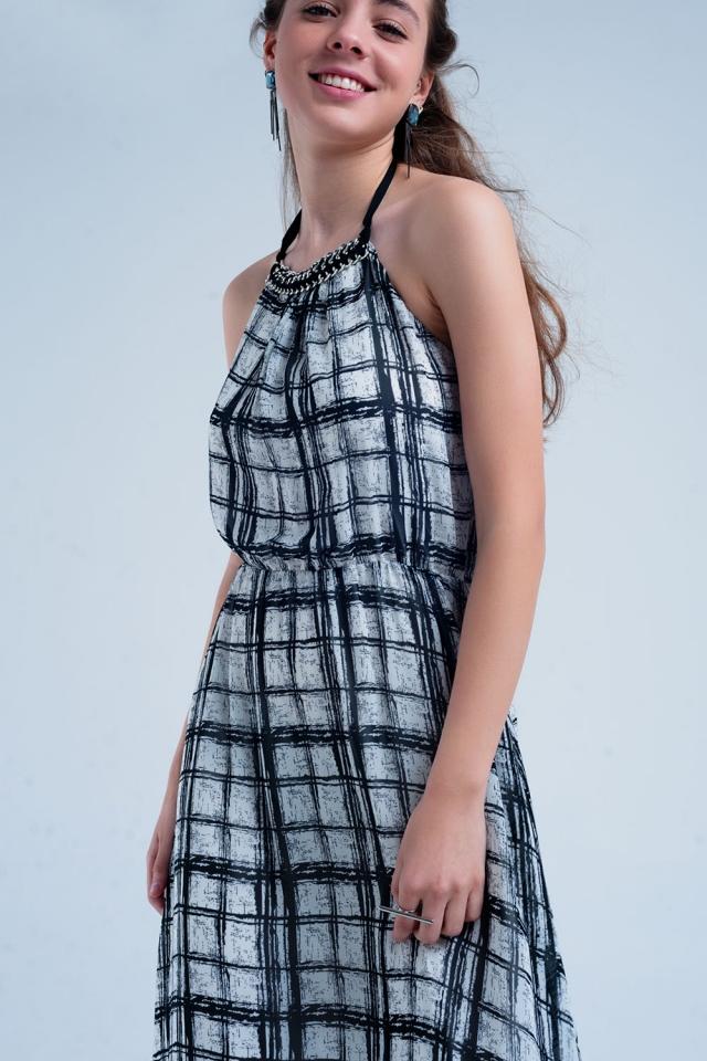 Maxi Kleid mit Neckholder
