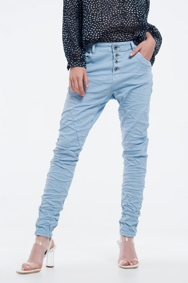 Original Boyfriend-Jeans in blau