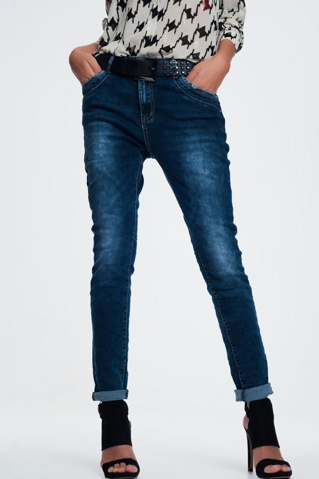 relaxed boyfriend jeans