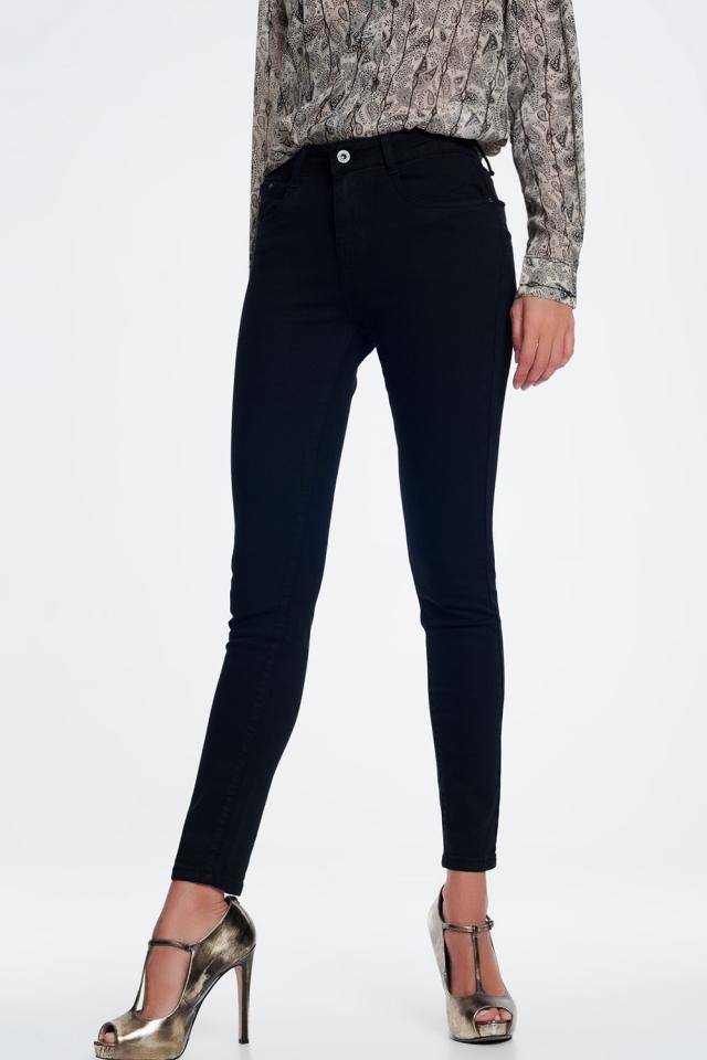 skinny jeans in black