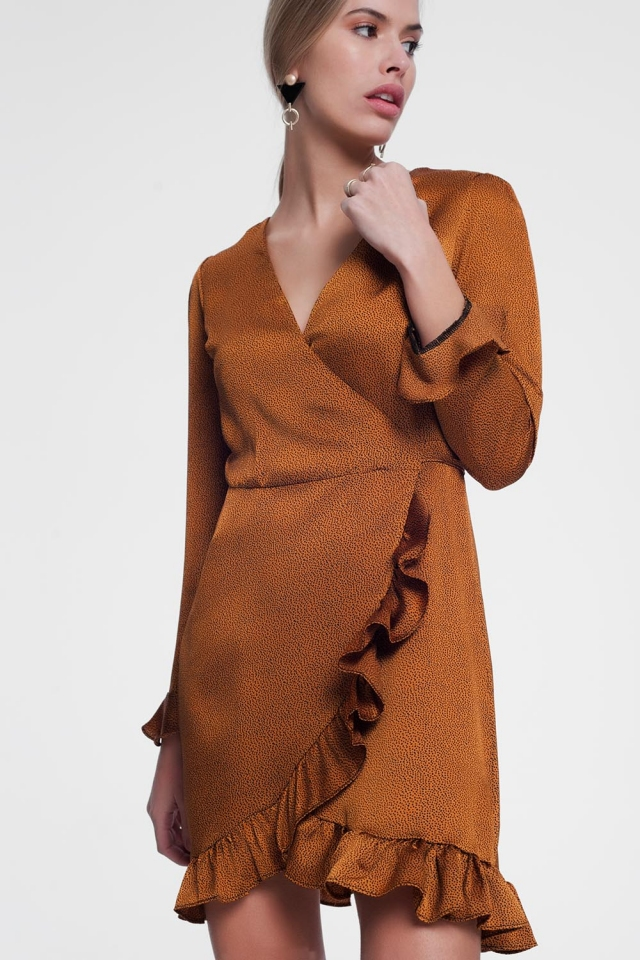Mustard coloured dress