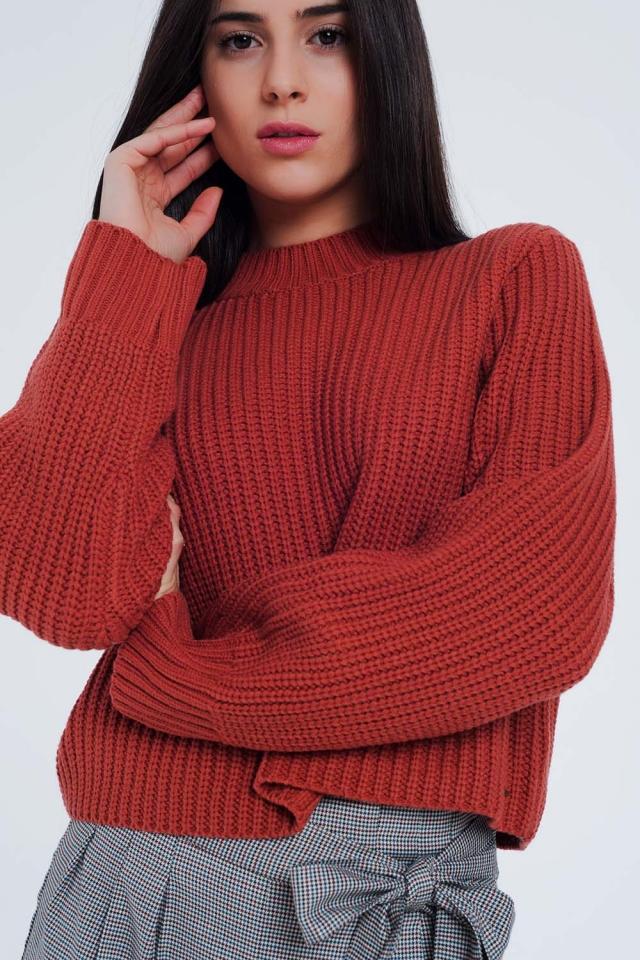 Caldera sweater with crew neck