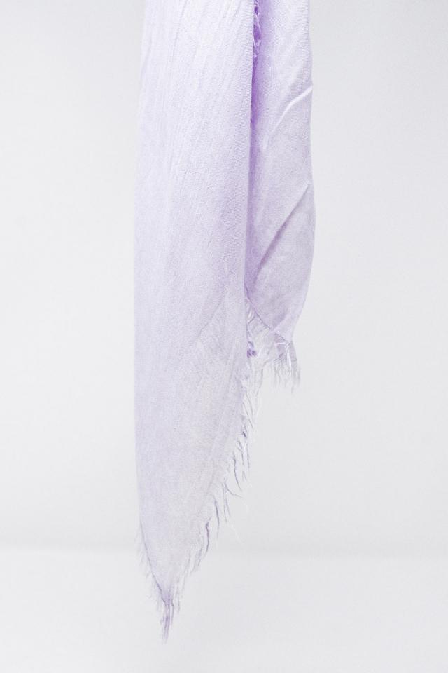 Leichter Schal in Lila