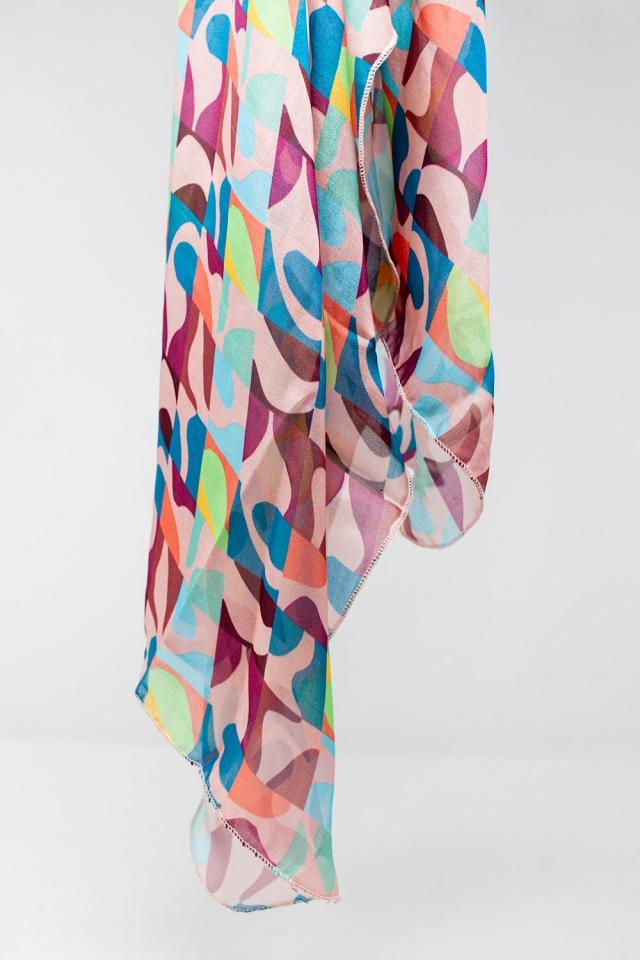 Retro style scarf