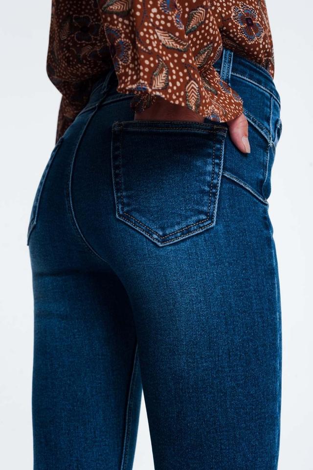 Regular push up skinny jeans