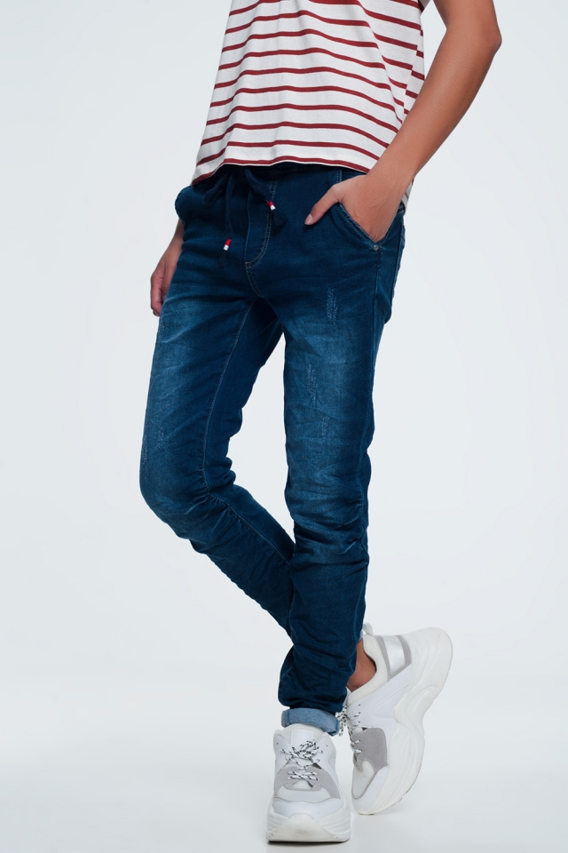 baggy cord jeans